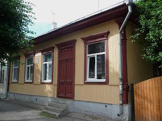 Пинск. Деревянные дома