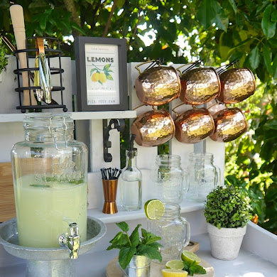 DIY Bar d'Extérieur en Bois Recyclé