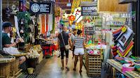 Pasar Terbesar di Bangkok