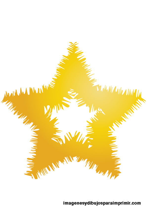 estrellas doradas grandes para imprimir   Imagenes y ...