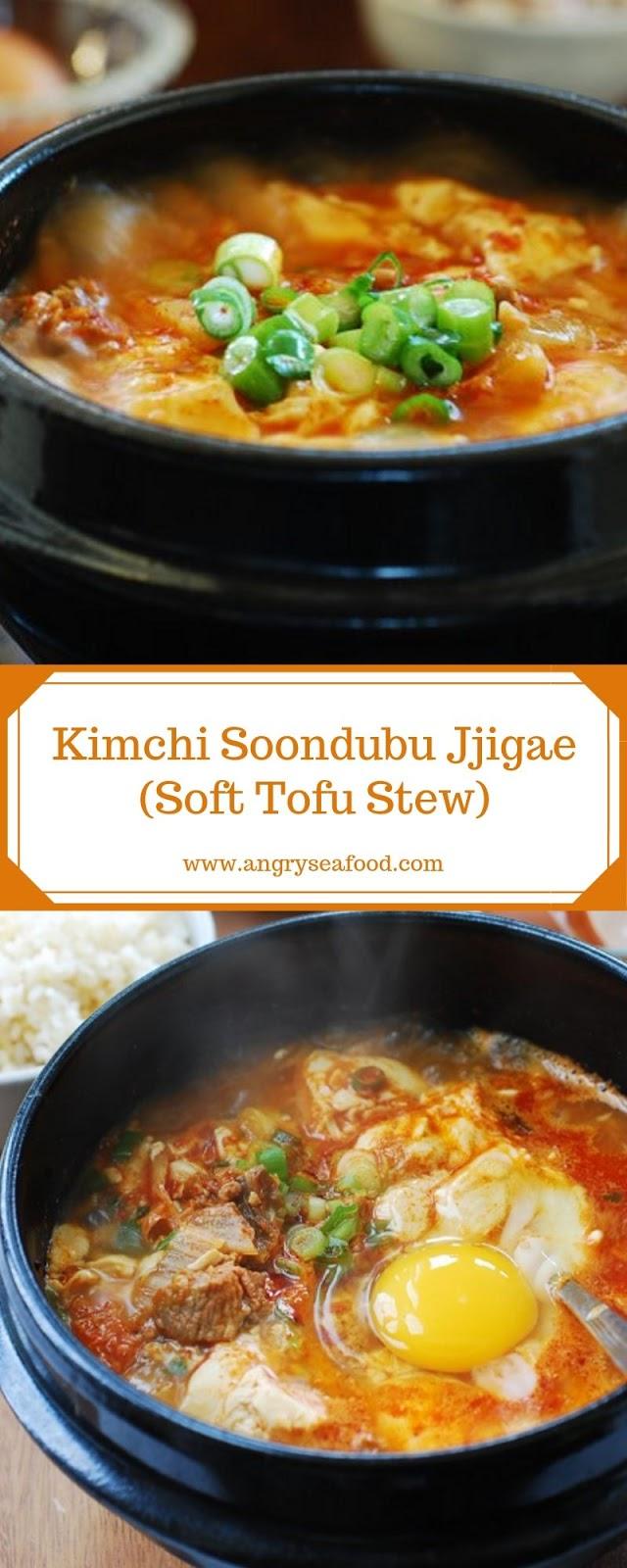 Kimchi Soondubu Jjigae (Soft Tofu Stew)