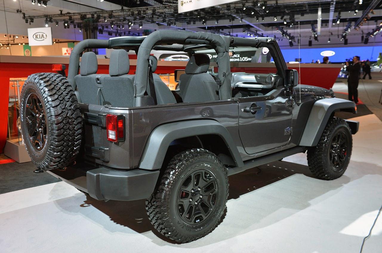automotiveblogz 2014 jeep wrangler willys wheeler edition la 2013 photos. Black Bedroom Furniture Sets. Home Design Ideas