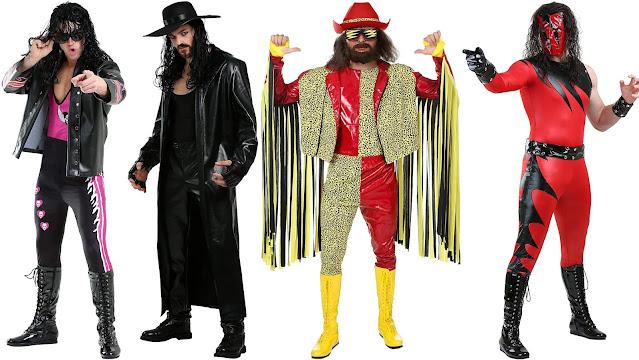 Costumi Wrestling wwe wwf anni 80 anni 90