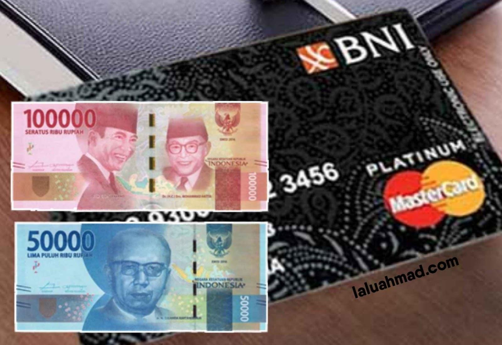 Minimal Setor Tunai Bank BNI