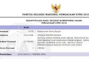 Hasil Seleksi Kompetensi Dasar CPNS 2019 Pemerintah Kota Banjar