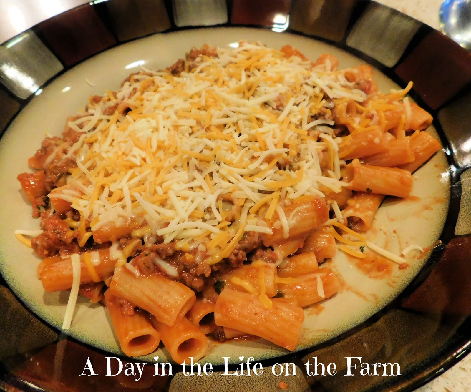 One Skillet Sloppy Joe Pasta