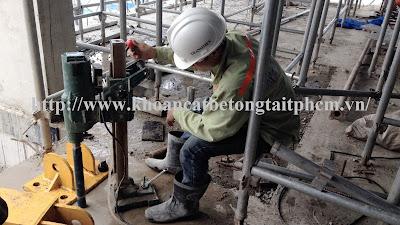 Khoan cắt bê tông tại huyện Dương Minh Châu