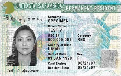 green card,