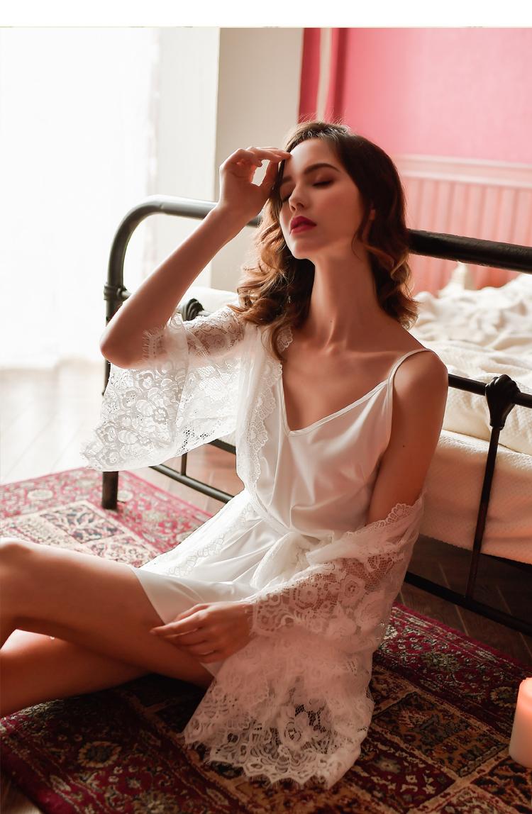 Váy ngủ 2 dây kiểu đơn giản thoải mái 7