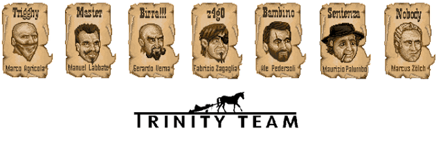 Bud Spencer & Terence Hill - Slaps and Beans -  Wanted pictures of the Trinity Team