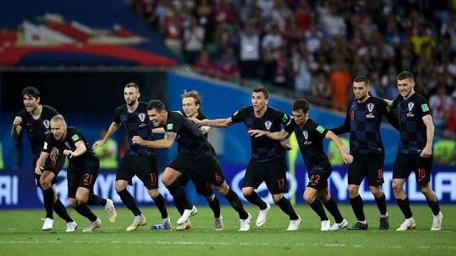 Kroasia Lolos Singkirkan Rusia Lewat Adu Penalti