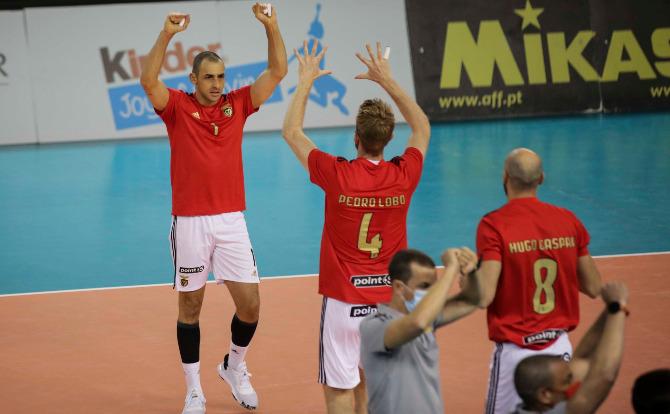 Benfica vencedor da Supertaça de Voleibol 2020Benfica vencedor da Supertaça de Voleibol 2020