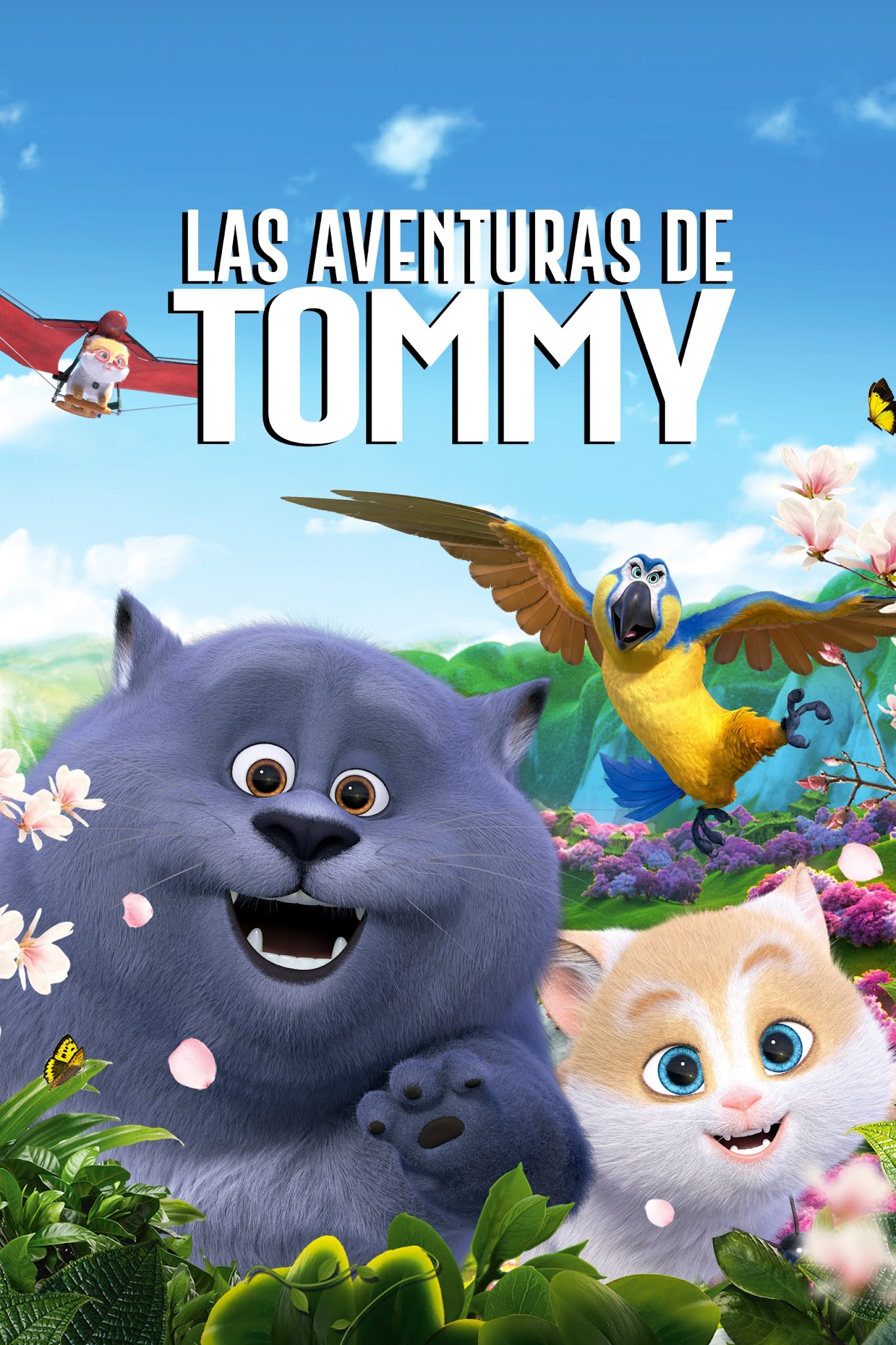 Cats and Peachtopia (2018) WEB-DL 1080p Latino