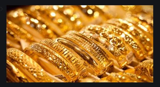 اسعار الذهب فى مصر اليوم 25 ابريل 2020  تراجع 6 جنيهات