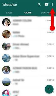 cara megunci aplikasi whatsapp menggunakan gb whatsapp