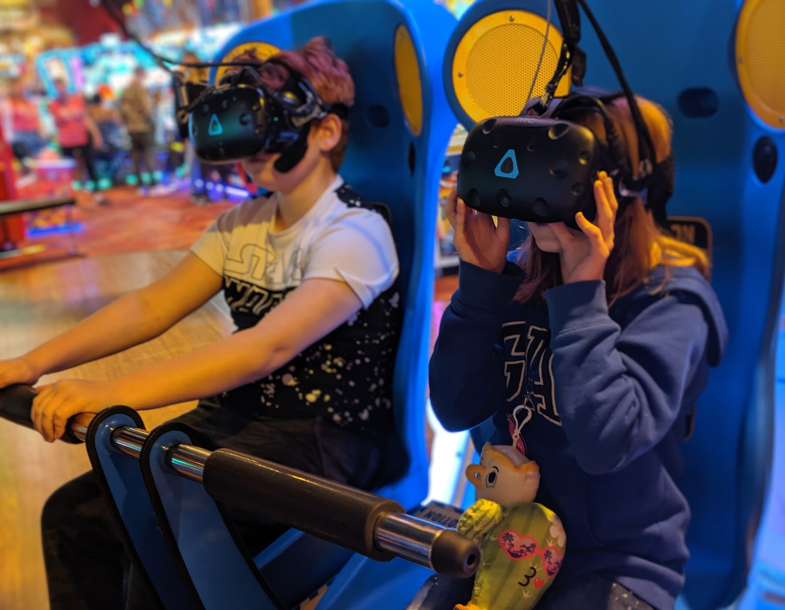 An A-Z Guide to Coral Island, Blackpool  - Virtual Reality Gaming