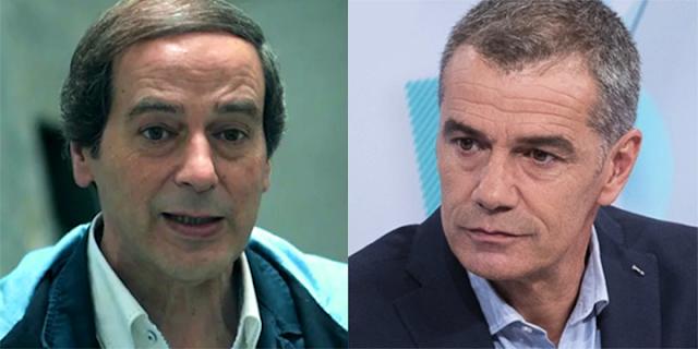 Isaías Lafuente y Toni Cantó