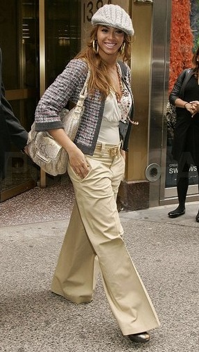 Troy Tashaz Blog: Style Ideas: Beyonce's Casual Outfit