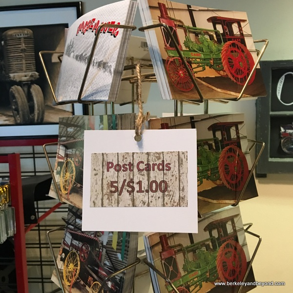 inexpensive post cards at California Agriculture Museum in Woodland, California
