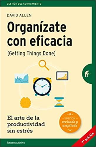 Organízate con eficacia portada del libro