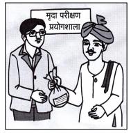 किसान भाई खेत की मिट्टी व पानी की जांच कैसे करवाए ? पुरी जानकारी हिन्दी में..