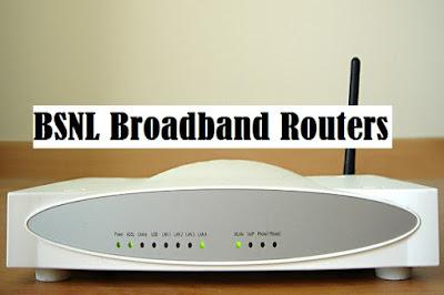 BSNL Broadband Routers