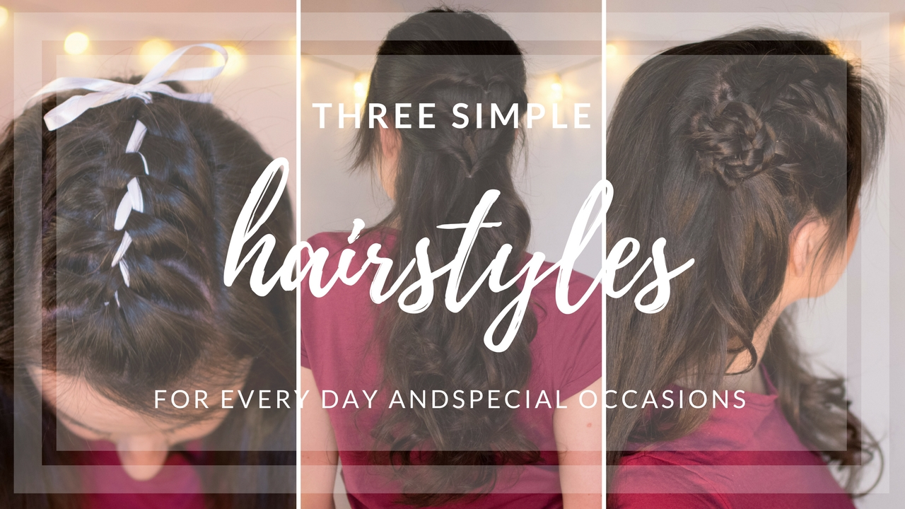 Three Simple Hairstyles For Everyday Or Special Occasion Jm Jm