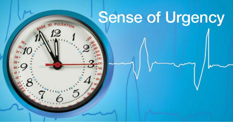 Psychology : How to create a sense of urgency