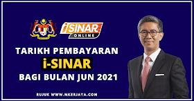 Tarikh & Cara Membuat Semakan Pembayaran i-Sinar Bagi Bulan Jun 2021