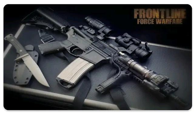 لعبة الحرب فرونت لاين قوة الحرب  Frontline Force warfare آخر إصدار للأندرويد.