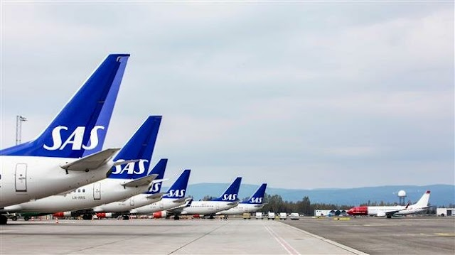 Pilot strike strands 72,000 passengers across Scandinavia