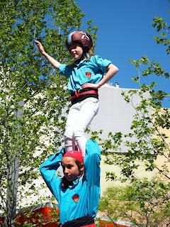 Joves castellers (Barcelona 15.04.18) per Teresa Grau Ros