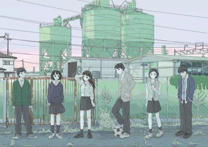 My Name Is Yours (Kimi ga Sekai no Hajimari) film - Ilustración de Tomoko Oshima