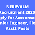 NERIWALM Recruitment 2020. Apply For Accountant, Junior Engineer, Field Asstt  Posts @ Assam Govt Jobs 2020