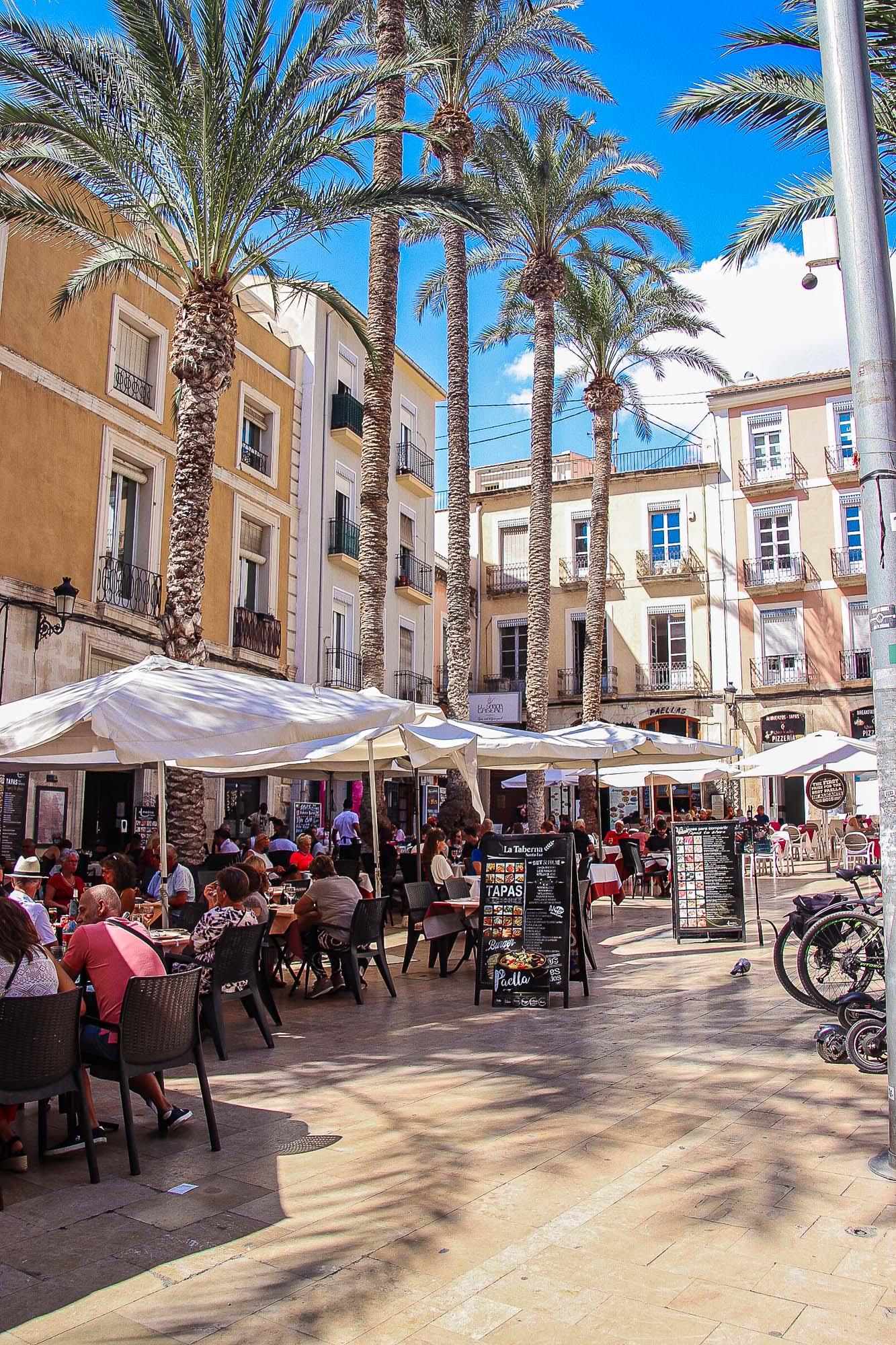 Alicante vanha kaupunki