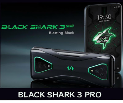 Black Shark 3 Pro is the latest gaming smartphone introduced by the Xiomi Corporation Company. It runs on android v10. 0. This smartphone received a better response than its predecessor version. It is powered by Qualcomm Snapdragon 865 octa core processor which provides a best performance.
