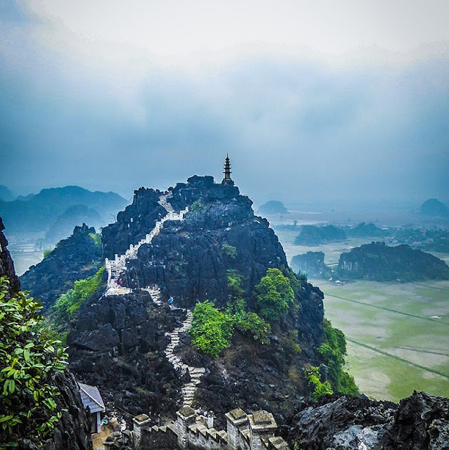 Hang Mua - A step to heaven in Ninh Binh