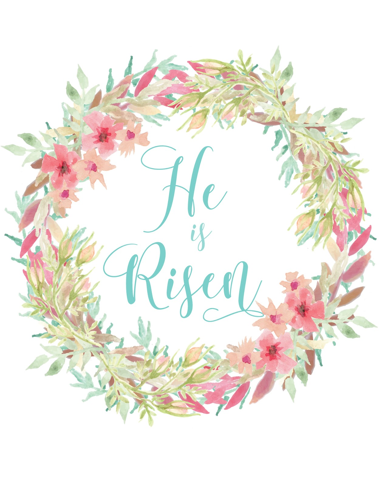 Priceless image in he is risen printable