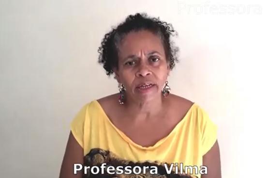 Professora Vilma, presidente da APP-Sindicato Maringá