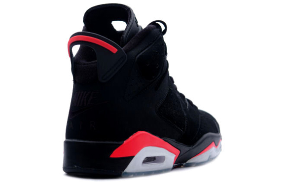 81a8ced0860dac Air Jordan VI (6) 2000 Retro – Black – Deep Infra Red