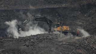 ilustrasi iup batu bara sarolangun