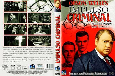 Carátula dvd: Impulso criminal