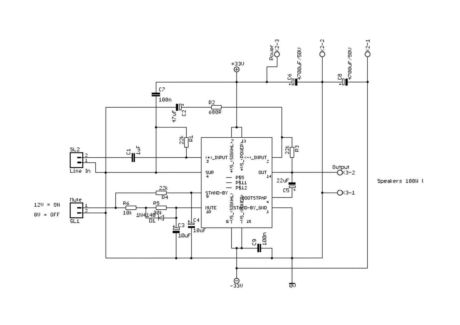 generac 5500 watt generator wiring diagram project expo.: 100 watt audio amplifier