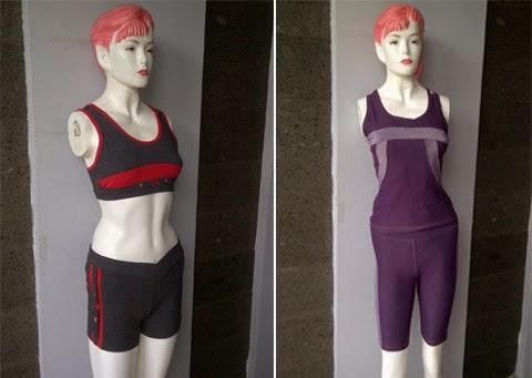 gambar model baju senam terbaru