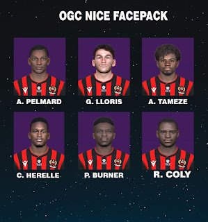 PES 2017 Facepack OGC Nice by FR Facemaker