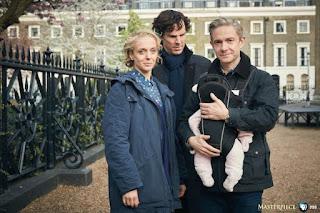 La cuarta temporada de Sherlock enseña nuevas imágenes
