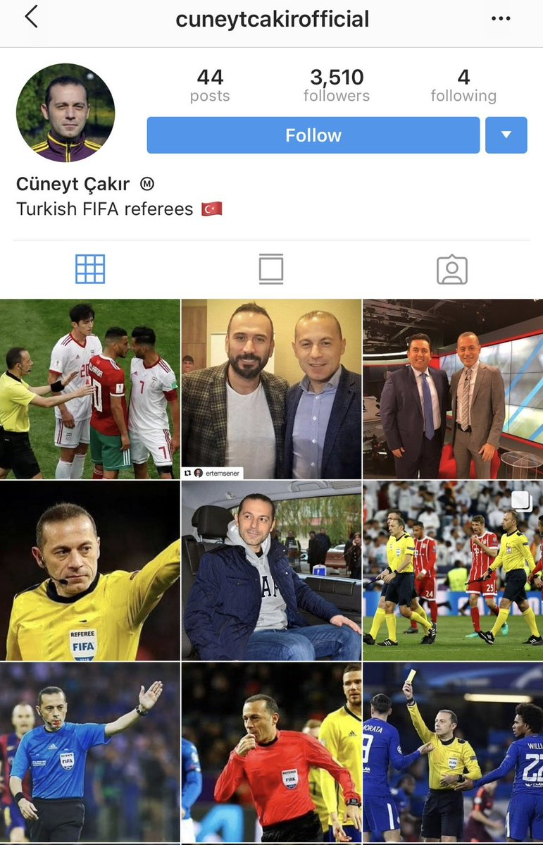 Nigerians never disappoint, they found referee's IG, check reactions