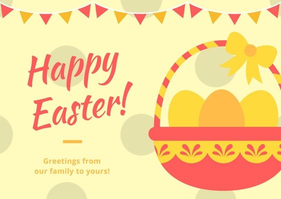Happy Easter card & printable