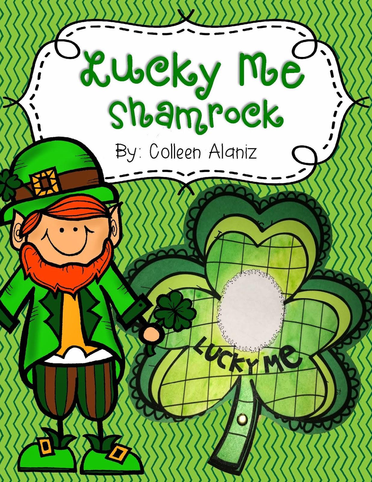 http://www.teacherspayteachers.com/Product/Lucky-Me-Shamrock-1127427