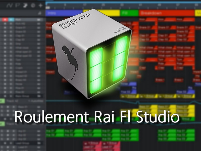 packet roulement rai pad fl studio